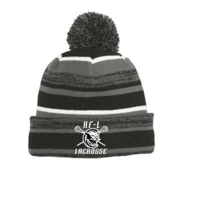 New Era Pom Winter Hat Black/Graphite