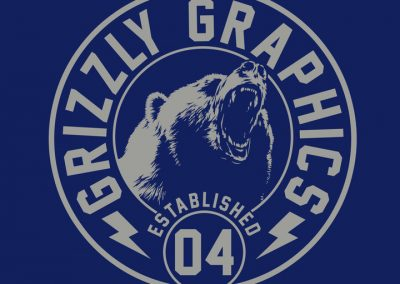 GRIZZLY GRAPHICS NEW 2020 Logo Dark 2